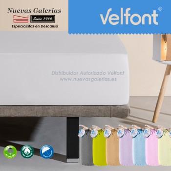 Velfont Spannbettlaken | Wasserdichter grau