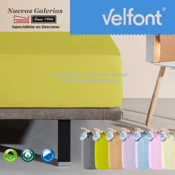 Velfont Spannbettlaken | Wasserdichter grün