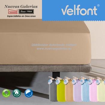 Velfont Fitted Sheet | Waterproof Beig