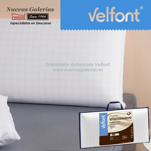 Memory Foam anti-stress pillow | Velfont Viscosuave