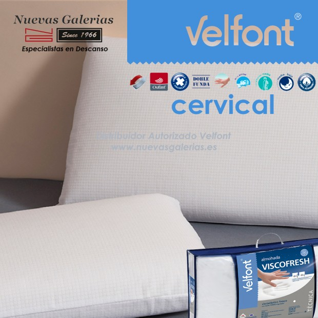 Almohada Cervical Viscoelástica Viscofresh | Velfont