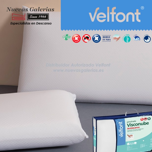 Memory Foam anti-stress pillow | Velfont Visconube