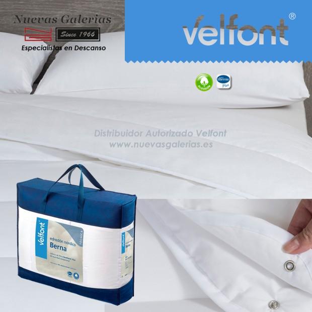 Couette synthétique Velfont Neotherm® 4 Saisons | 100% Coton BERNA