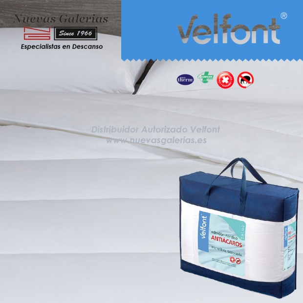 Velfont Anti-dustmite Synthetic Conforter All Seasons | Acarsan® 100x120