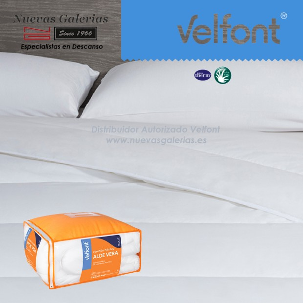 Couette synthétique Velfont Neotherm® Hiver | Aloe Vera