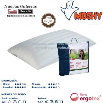Ergotex® Fiber Pillow | Moshy Elite