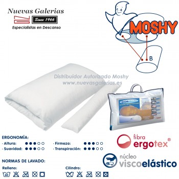 Memory Foam Pillow ergonomic | Moshy Doreiller