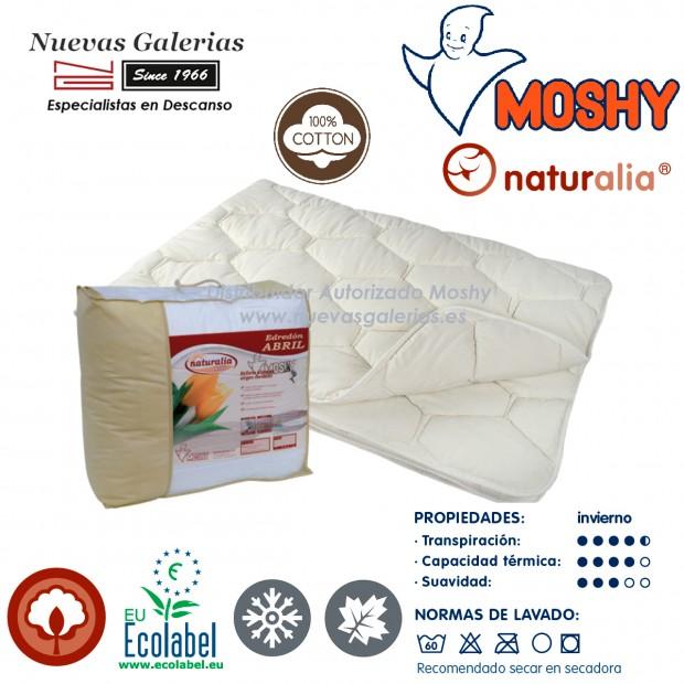 Coton Couette naturelle Hiver   Naturalia Abril Moshy