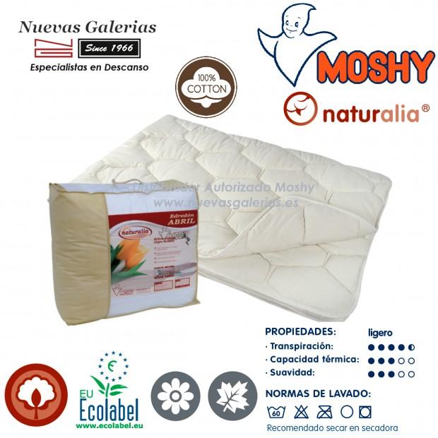 Cotton Conforter lightweight   Naturalia Abril Moshy