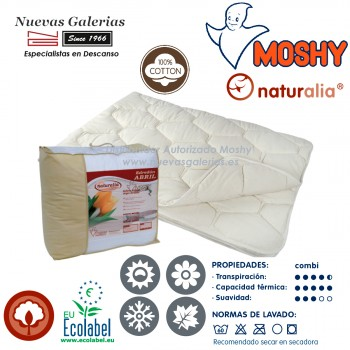 Coton Couette naturelle 4 Saisons | Naturalia Abril Moshy
