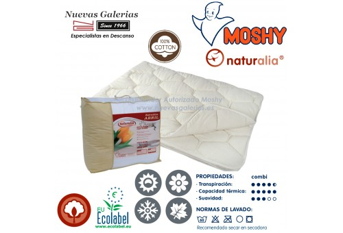 Cotton Conforter All Seasons | Naturalia Abril Moshy