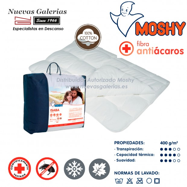 Couette synthétique Moshy Hiver | Isaba