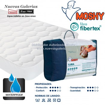 Waterproof mattress protector | Turia Fibertex® Moshy