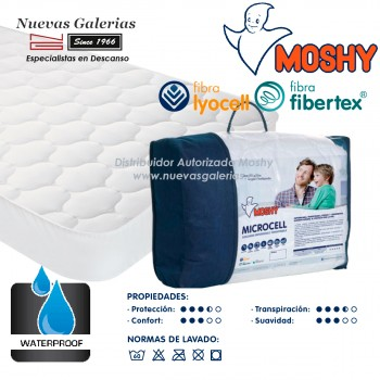 Protector de Colchón Impermeable Moshy | Microcell