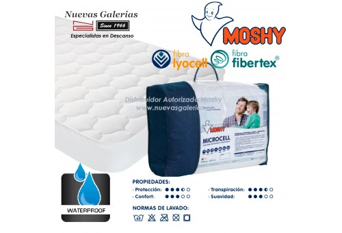 Waterproof mattress protector | Turia Microcell Moshy