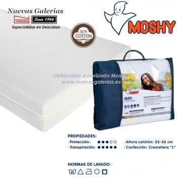 Moshy Matratzenbezug 100% elastischer Baumwolle | Irati