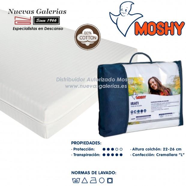 Irati fully enclosed mattress cover   Moshy