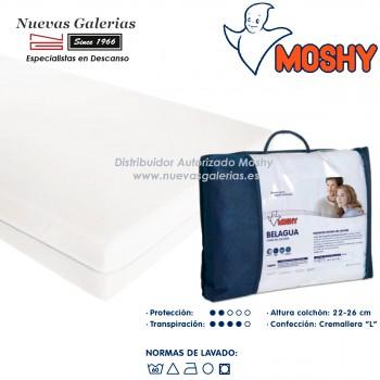 Moshy Matratzenbezug 100% elastischer | Belagua