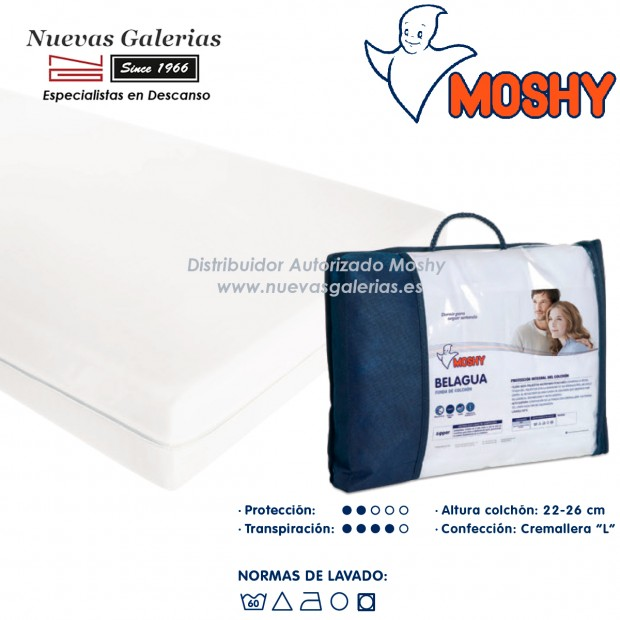 Belagua fully enclosed mattress cover | Moshy