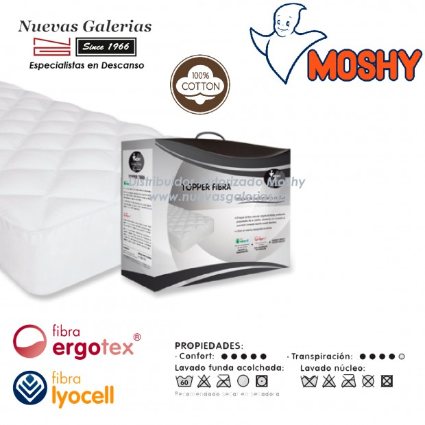 Materassi Topper conforter | Moshy Fibra