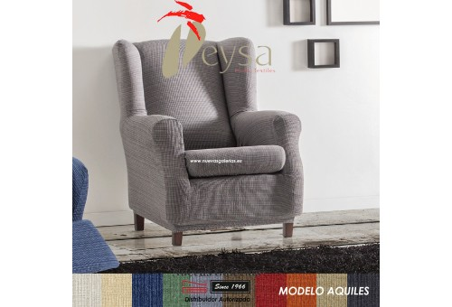 Eysa Elastic Wing Chair Sofa Cover | Aquiles
