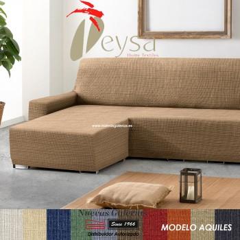 Eysa Bielastische Schoner für Sofa mit Ottomane | Aquiles