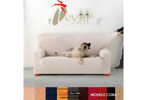 Eysa Bielastic sofa cover | Cora