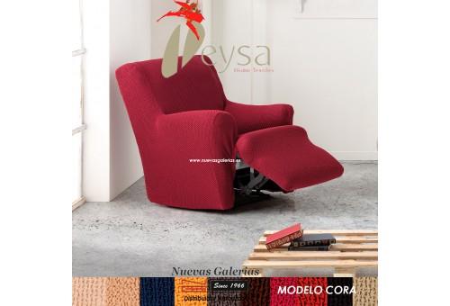 Eysa Bielastische Schoner für Relaxsessel Cora