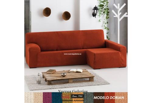 Eysa Bielastische Schoner für Sofa mit Ottomane | Dorian