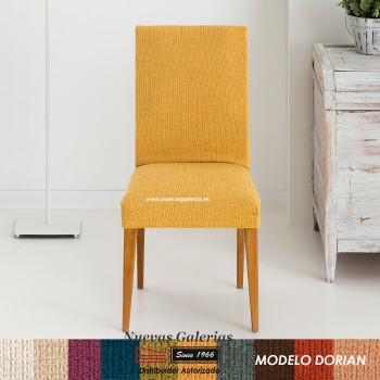 Eysa Strechhusse für Stühle ohne Rückenlehne - Zweier Set | Dorian