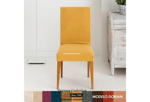 Eysa Strechhusse für Stühle ohne Rückenlehne - Zweier Set   Dorian