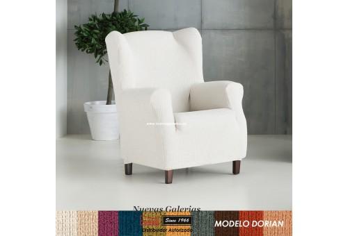 Eysa elastisch sofa überwurf ohrensessel   Dorian