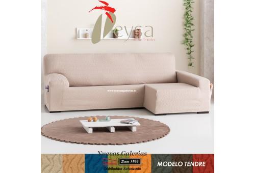 Eysa Bielastic sofa cover Chaise Longue| Tendre