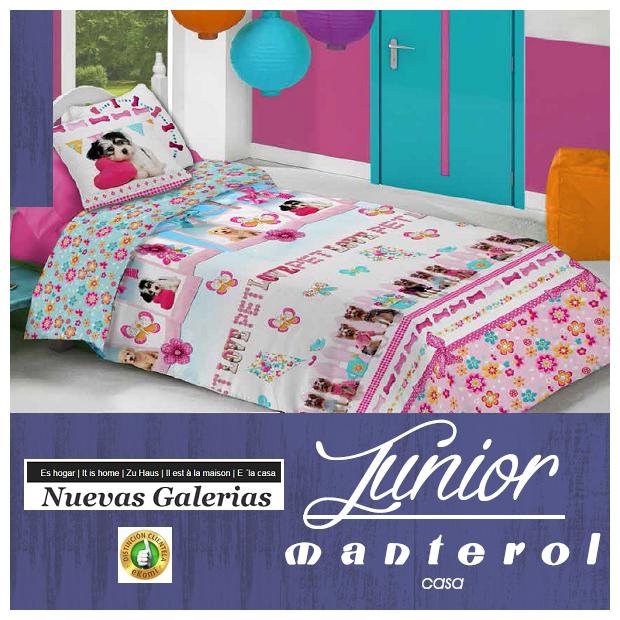 Kinder Bettwäsche Manterol Junior 583 Nuevas Galerias