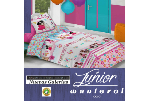 Manterol Funda Nordica Manterol | Junior 583 - 1 Funda Nordica Manterol | Junior 583 - Juego de Funda Nórdica con motivos infant