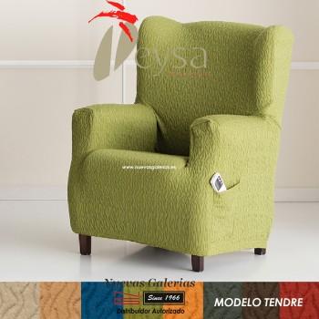 Eysa elastisch sofa überwurf ohrensessel | Tendre