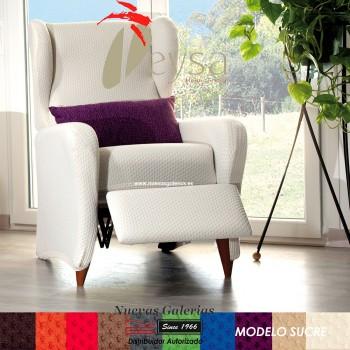 Eysa Bielastic Relax-sofa cover | Sucre