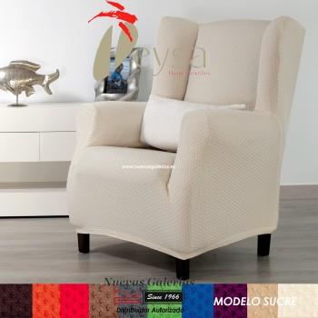 Eysa elastisch sofa überwurf ohrensessel | Sucre