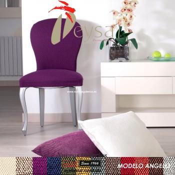 Eysa Strechhusse für Stühle ohne Rückenlehne - Zweier Set | Angelo