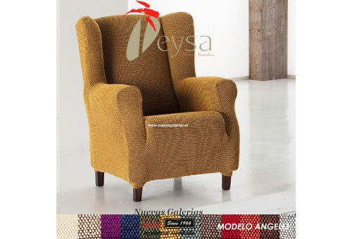 Eysa Elastic Wing Chair Sofa Cover | Angelo