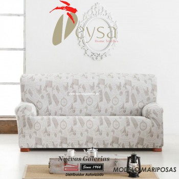 Eysa Elastic sofa cover | Graffiti Mariposas