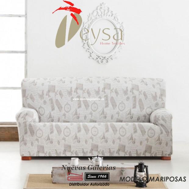 Housse de canapé Eysa Elastic | Graffiti Mariposas