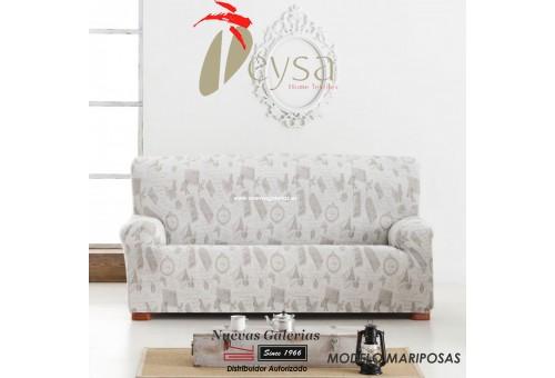 Eysa Elastic sofa cover | Graffiti Mariposas