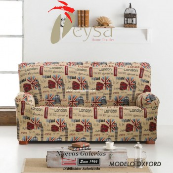 Eysa Elastic sofa cover | Graffiti Oxford