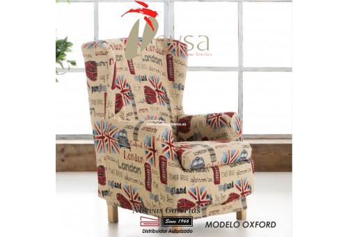 Eysa elastisch sofa überwurf ohrensessel | Graffiti Oxford