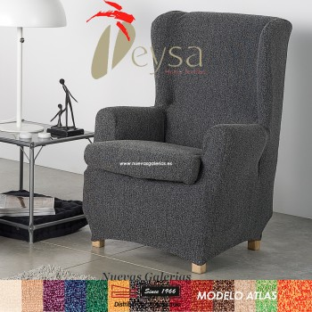 Eysa Elastic Wing Chair Sofa Cover | Atlas