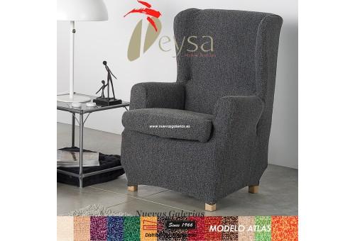 Eysa Elastic Wing Chair Sofa Cover | Atlas