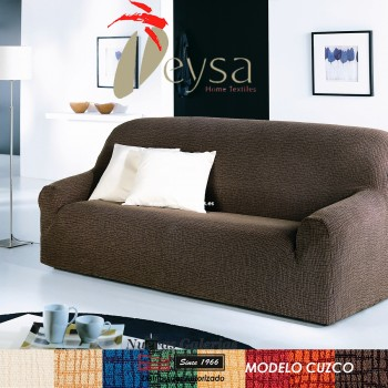 Eysa Elastic sofa cover | Cuzco