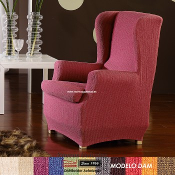 Eysa Elastic Wing Chair Sofa Cover | Dam