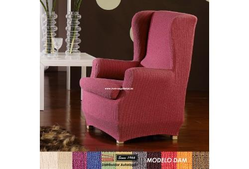 Eysa Elastic Wing Chair Sofa Cover | Dam